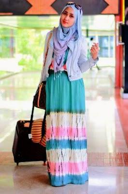 contoh baju batik trend terbaru