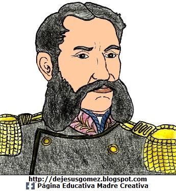 Andrés Avelino Cáceres pintado