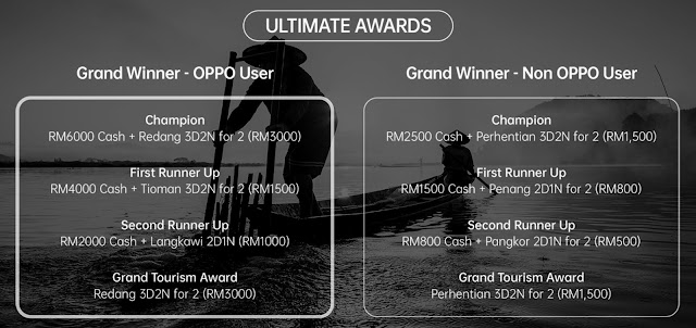 OPPO Dengan Kerjasama TOURISM MALAYSIA Melancarkan Pertandingan Fotografi 'Be A RENOgrapher'