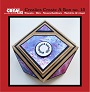 11 stansen om een juwelendoosje (gemstone box, faceted gift box) te maken. 11 dies to make a jewelry box (gemstone box, faceted gift box).