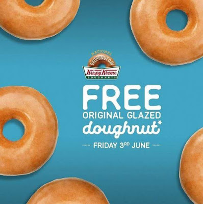 Free Doughnuts at Krispy Kreme Malaysia
