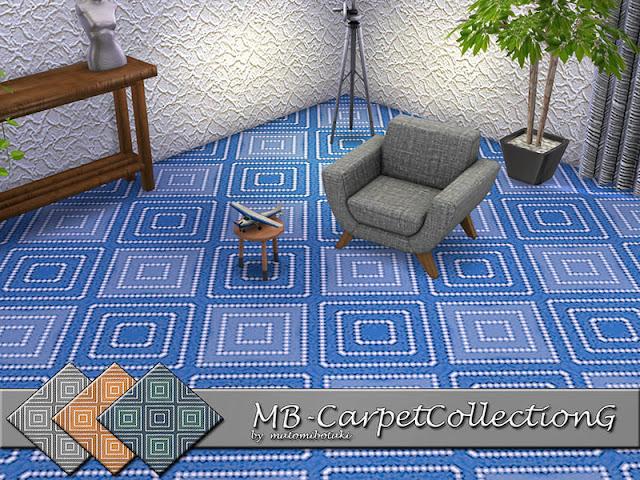 Ковровые половые покрытия для The Sims 4 со ссылками на скачивание