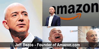 Jeff Bezos-Founder of Amazon.com