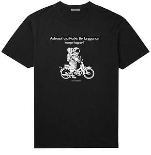 Mereka Peduli e-Parkir - Kaos Astronot - Tarakan Info