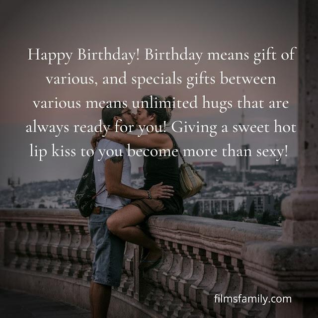 hot birthday wishes