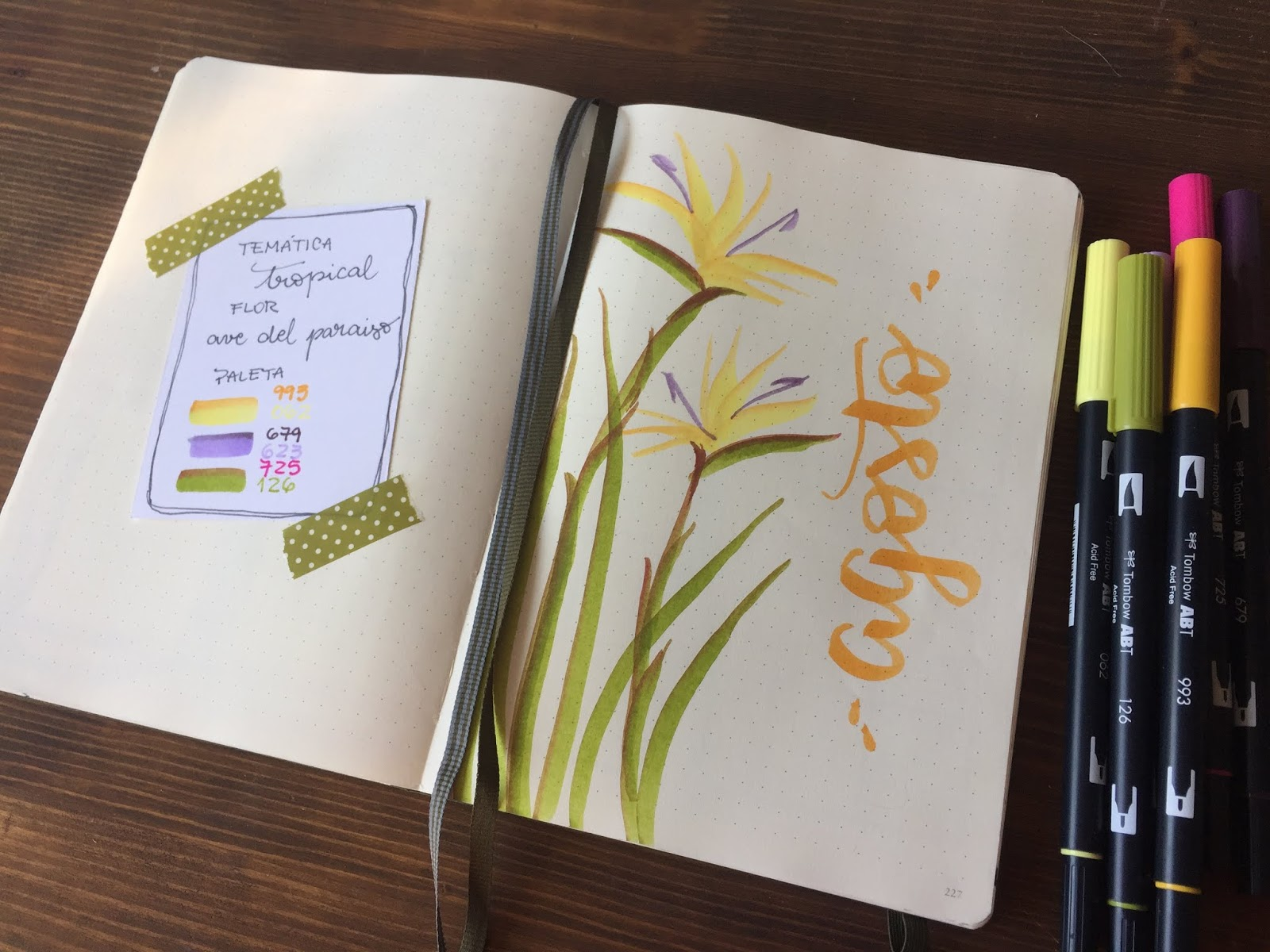 BULLET JOURNAL EDICIÓN AGOSTO