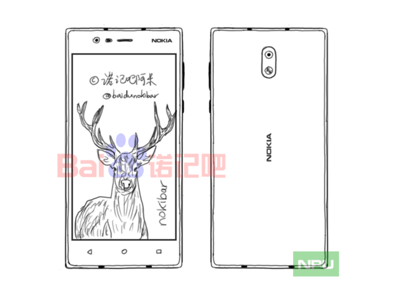 revealed that HMD Global volition liberate a telephone dubbed equally Nokia  Rumors: Nokia iii Is Influenza A virus subtype H5N1 Budget Nougat Smartphone
