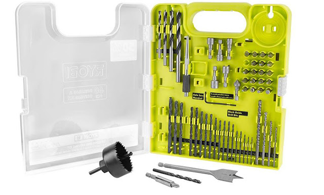 drill and drive kit from Ryobi - tools