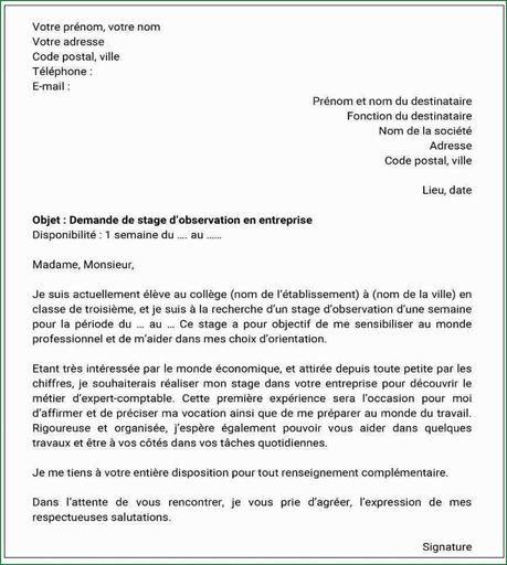remerciement stage : exemple,