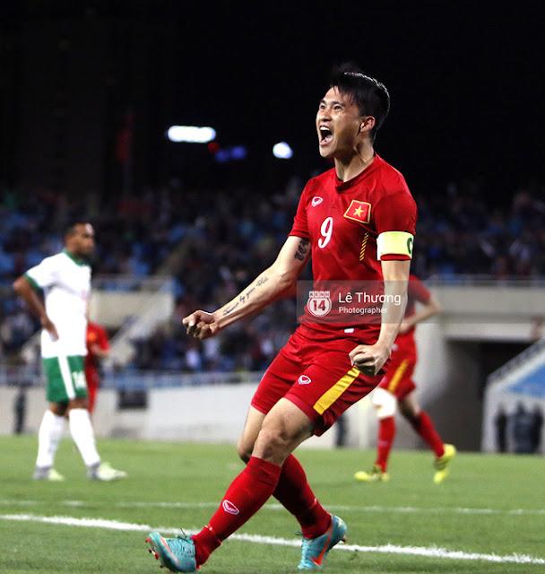 Công Vinh sẽ vượt Rooney, chỉ kém Ronaldo và Messi nếu ghi 4 bàn ở AFF Cup 2016