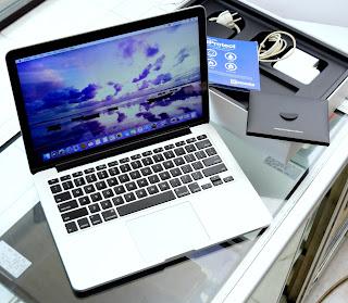 Jual MacBook Pro Retina 2014 ( 13-inchi ) Core i5 Fullset
