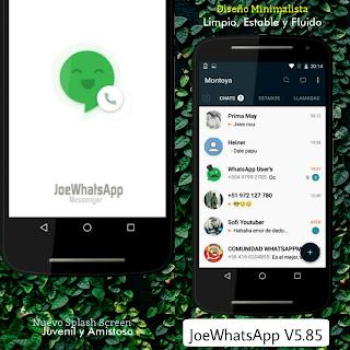 Joe WhatsApp v5.85 WhatsAppMods.in