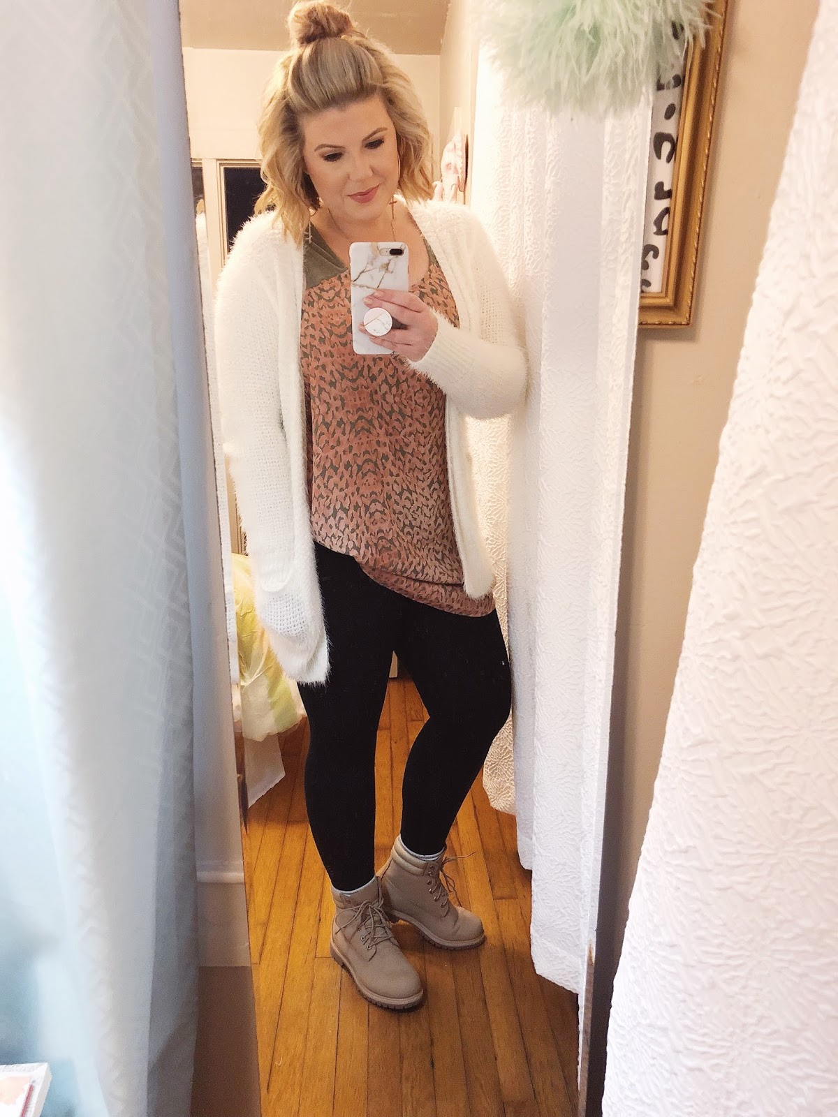 Easy outfits for work Timberland boots
