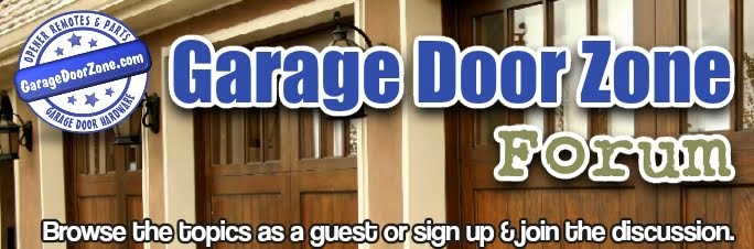Garage Door Zone Forums