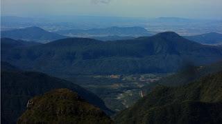 Montanhas Vistas do Cânion da Boa Vista, São José dos Ausentes
