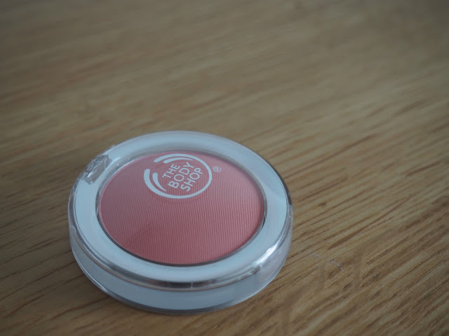 Body Shop cosmetics - macaroon all in one cheek colour