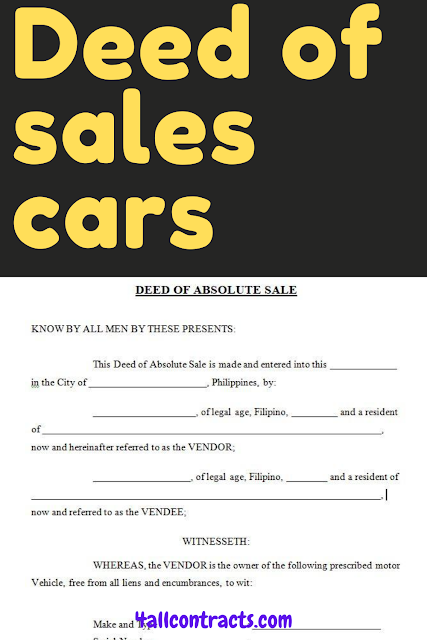 deed of sale car sample, deed of sale car pdf, deed of sale car pdf philippines, deed of sale car format, deed of sale cars philippines,