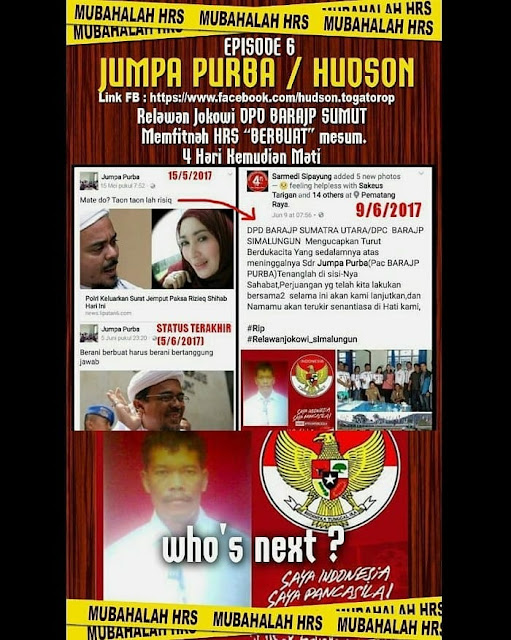 Korban Mubahalah Penghina Habib Rizieq
