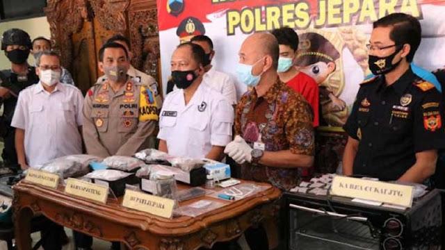 BNN Berhasil Bongkar Peredaran Ganja Dikemas Dalam Kue Brownis