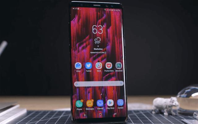 Samsung Note 8 N950U: How to install pie 9 stock rom via odin flasher