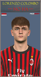 PES 2017 Faces Lorenzo Colombo by Mo Ha