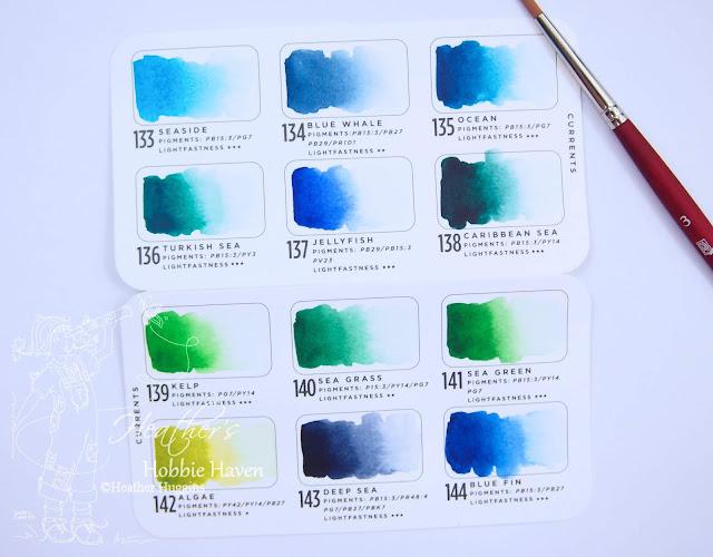 Heather's Hobbie Haven - Prima Currents Watercolors