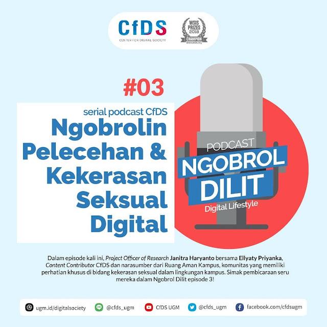 Ngobrolin Pelecehan & Kekerasan Seksual Digital
