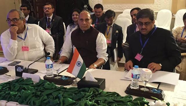 पाकिस्तान को खरी-खरी सुनाने के बाद बिना लंच किए भारत लौटे राजनाथ