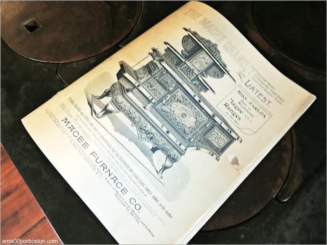 Instrucciones de la Cocina de la Mansión Ropes de Salem