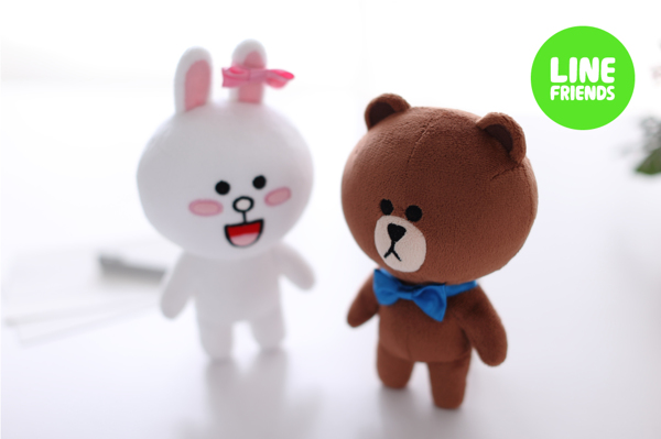 Line Friends Plushie