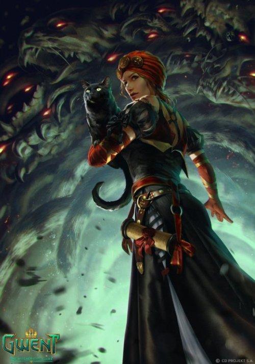Anna Podedworna deviantart arte ilustrações fantasia games the witcher gwent
