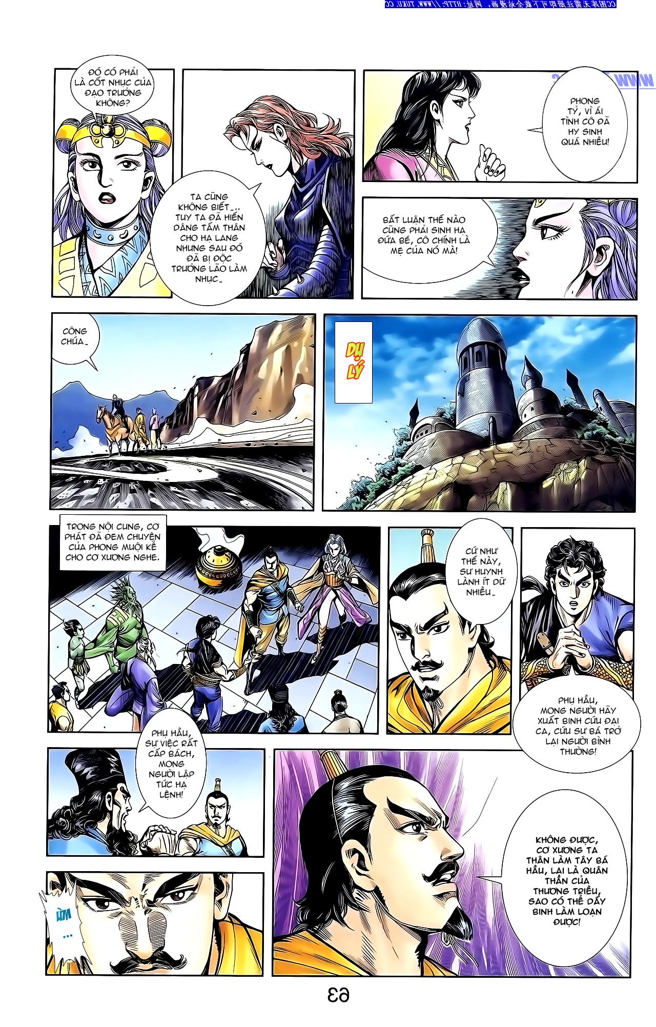Cơ Phát Khai Chu Bản chapter 144 trang 20
