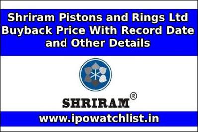 Shriram Pistons and Rings Ltd Buyback