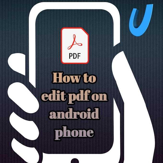 how to edit pdf file on mobile in hindi | फोन से pdf एडीटिंग करें।
