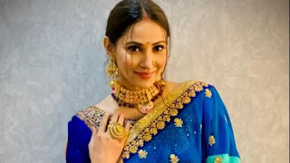Rishina kandhari is not only an actress she is also a good rapper