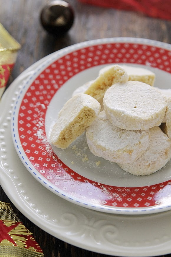 El gato goloso: recetas de Navidad -  Galletas de limón (que se disuelven en la boca)