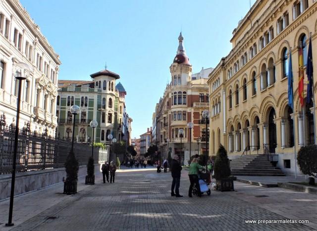 calles elegantes y bonitas de Oviedo