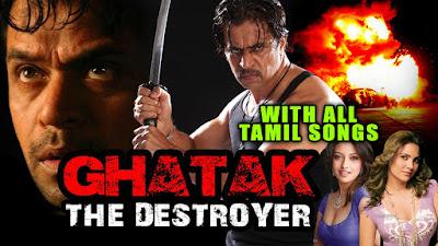 Ghatak The Destroyer (Arasatchi) 2015 Full Hindi Dubbed HD