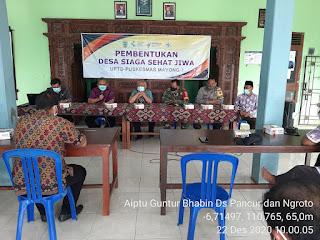 Babinsa Turut Mendukung Pembentukan Desa Siaga Sehat Jiwa