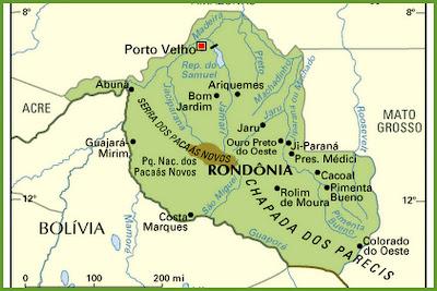 Resultado de imagem para principais rios rondonia