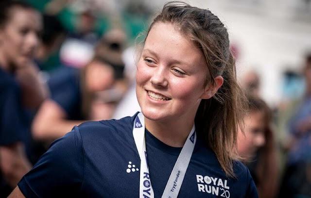 Princess Isabella took part in the Royal Run 2021