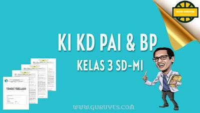 Pada kesempatan ini admin akan berbagi link download KI dan KD Pendidikan Agama Islam  Download KI KD PAI SD Kelas 3 Kurikulum 2013