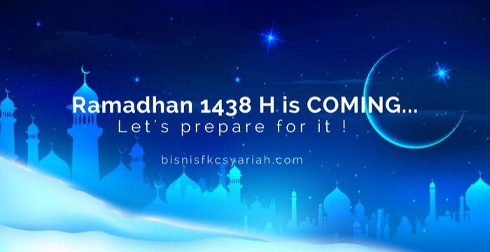 Bisnis Fkc Syariah - Ramadhan Sebentar Lagi