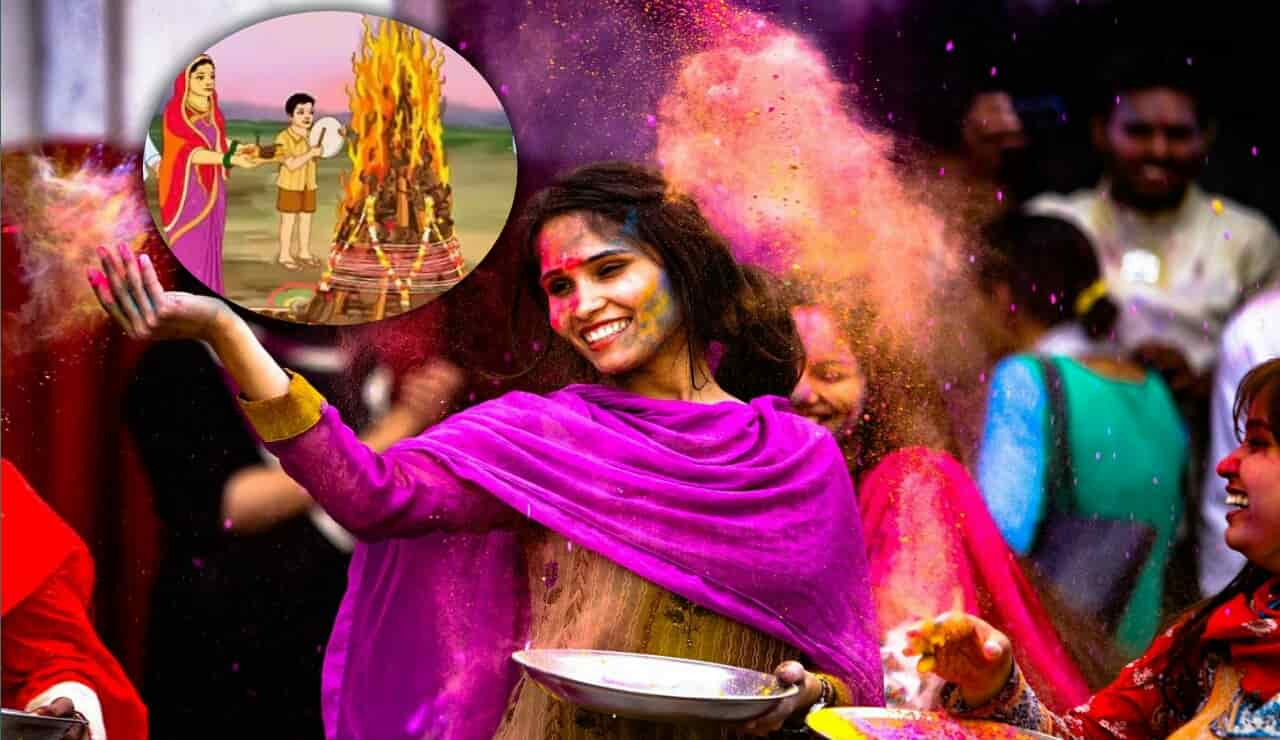 Story of Holi in Hindi,  Story of Prahlad, Holi and the story of the devotee Prahlada, date of holi festival, होली पर निबंध