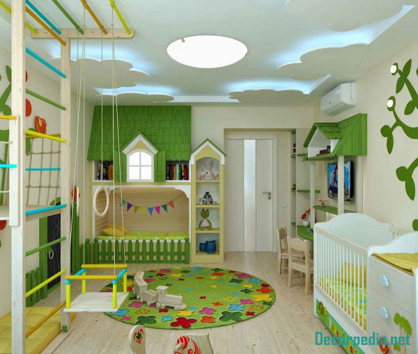 kids room ceiling designs and ideas, pop design ceiling for kids room