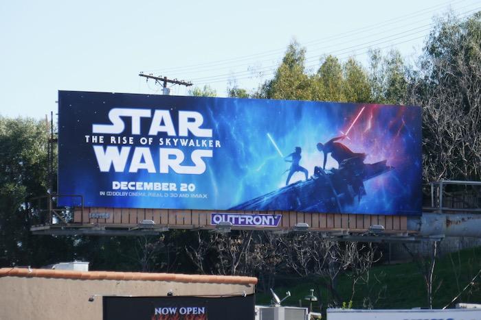Star Wars Rise of Skywalker billboard