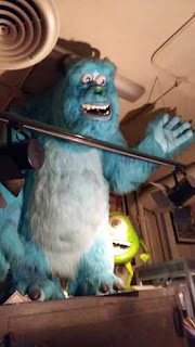 Monsters Inc. At Hollywood Museum