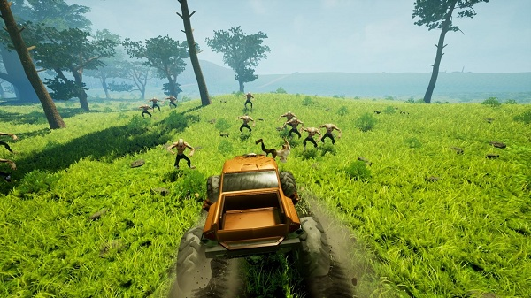 Free Download Zombie Road Rider