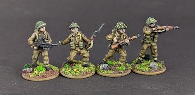 1/72 British Infantry
