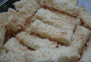 kastengel roti tawar tabur keju